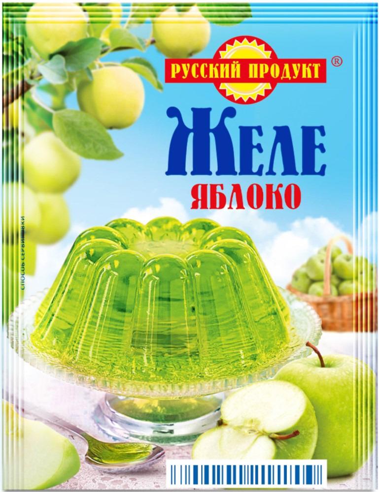 Русский продукт Желе зеленое яблоко, 35 шт по 50 г русский продукт желе зеленое яблоко 35 шт по 50 г