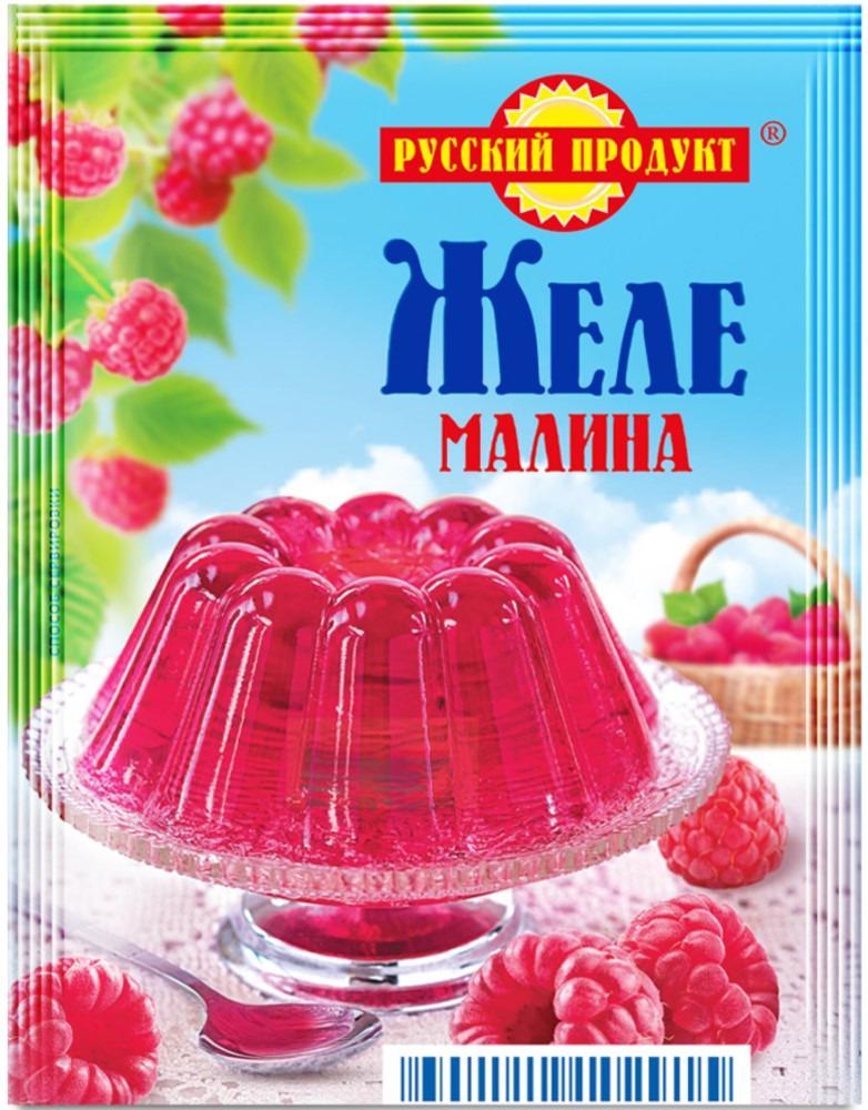 Русский продукт Желе малина, 35 шт по 50 г русский продукт желе зеленое яблоко 35 шт по 50 г