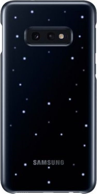 Чехол Samsung LED Cover для Galaxy S10e, черный