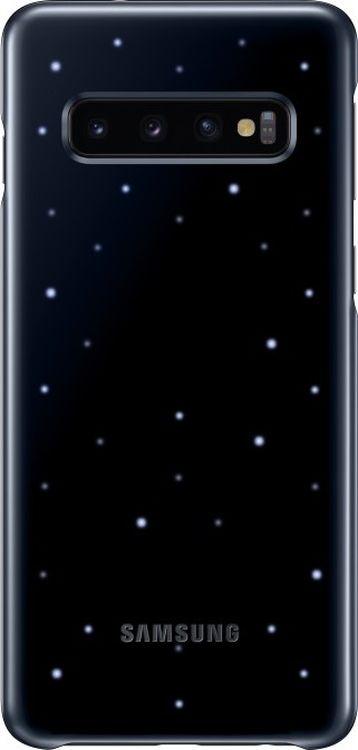 Чехол Samsung LED Cover для Galaxy S10, черный