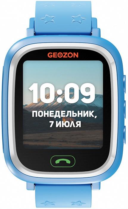 Мобильные компактные телефоны, носимые на запястье (часы) GEOZON Lite /blue(голубой) G-W05BLU умные часы детские geozon aqua синий