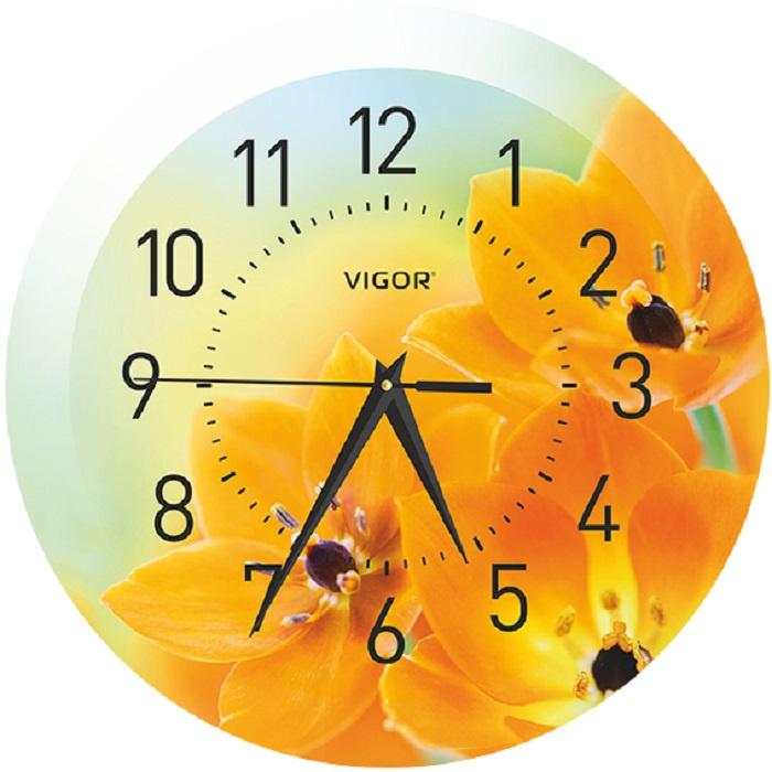 Настенные часы VIGOR Д-29 Оранжевое настроение brilliant vigor g94141 05