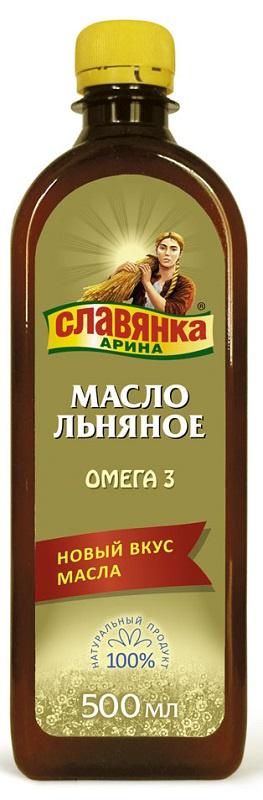 Масло Льняное Компас Здоровья Славянка Арина, 0,5 л масло льняное компас здоровья сибирское 0 2 л