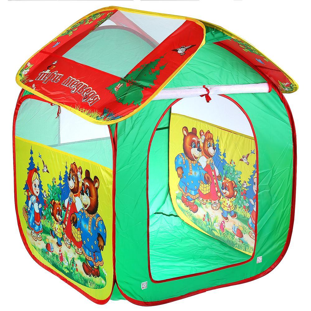 Палатка для игр Играем вместе GFA-3BEAR-R
