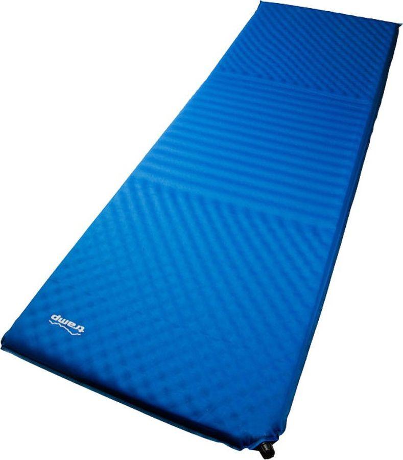 Коврик самонадувающийся Tramp, TRI-018, синий, 190 х 65 см коврик tramp tri 002