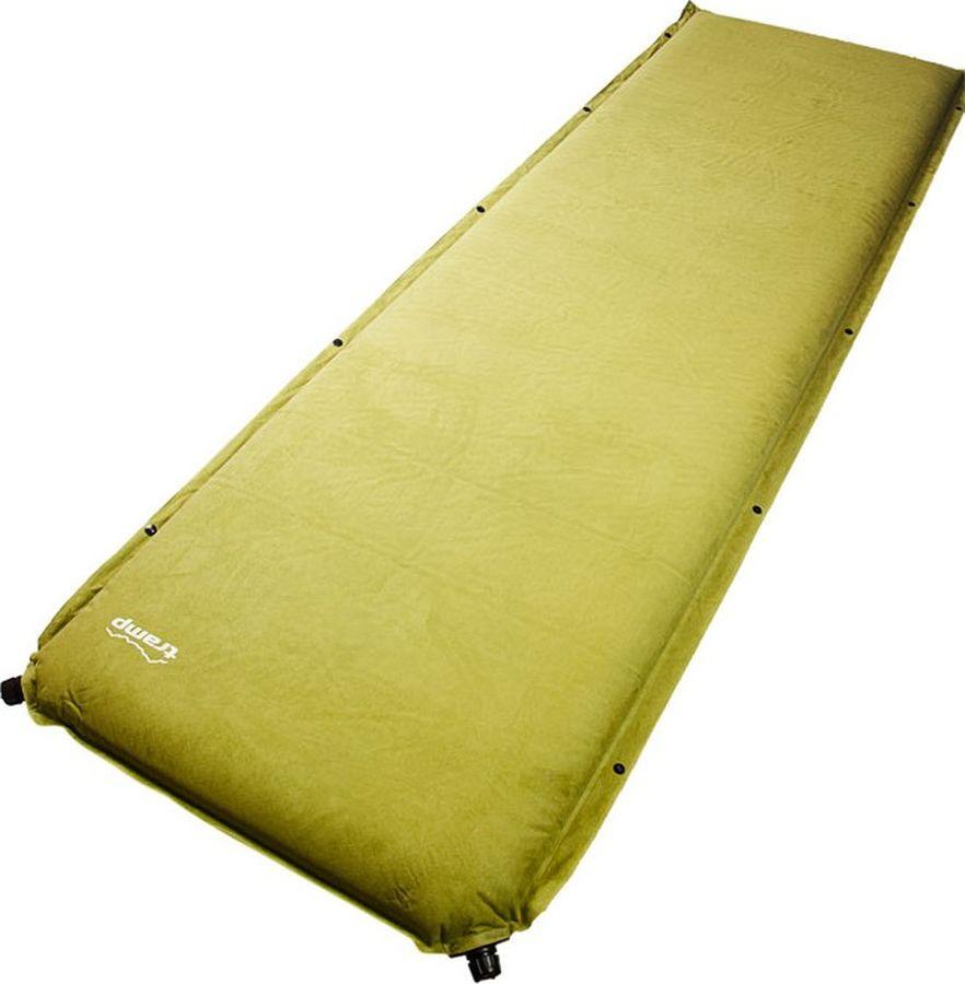 Коврик самонадувающийся Tramp Комфорт+, TRI-016, зеленый, 190 х 65 см коврик tramp tri 002