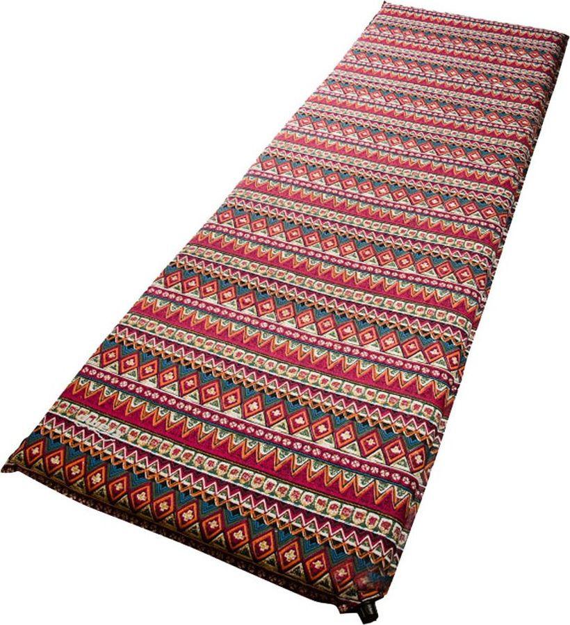 Коврик самонадувающийся Tramp, TRI-020, разноцветный, 200 х 65 см коврик tramp tri 002