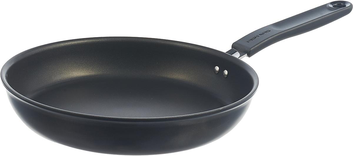 цена на Сковорода Fiskars Functional Form, 1026573, черный, диаметр 26 см
