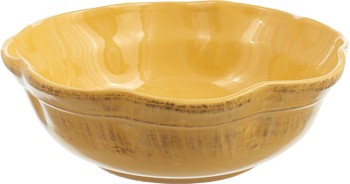 Салатник De Silva Джалло, DS852GL, желтый, 3,2 л