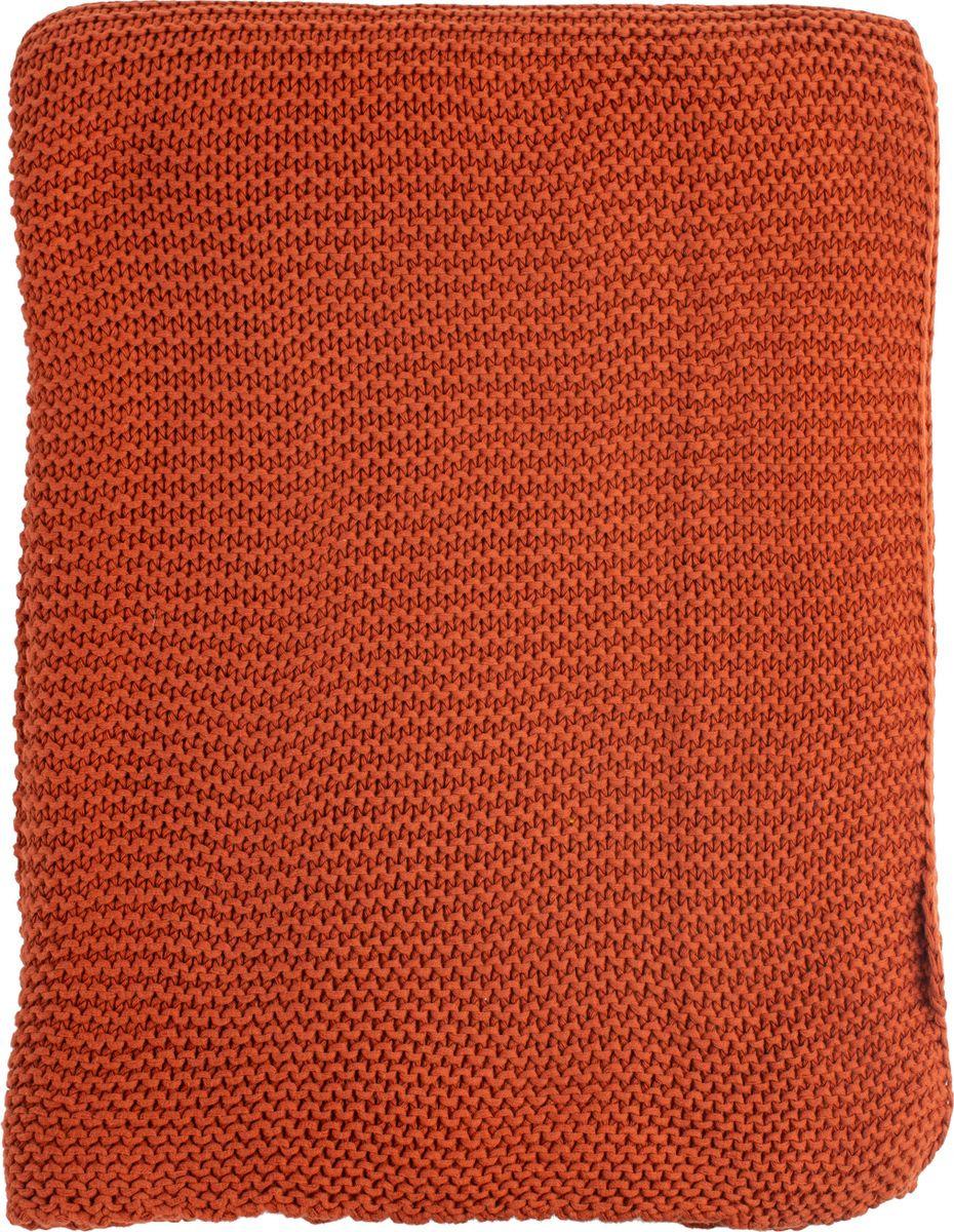 Плед Tkano Essential, терракотовый, 180 х 220 см