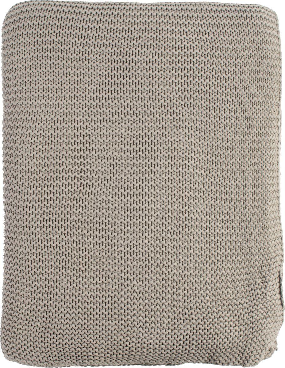 Плед Tkano Essential, серый, 180 х 220 см