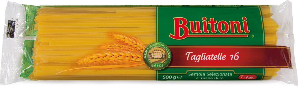 Макароны Buitoni Tagliatelle 16, 500 г