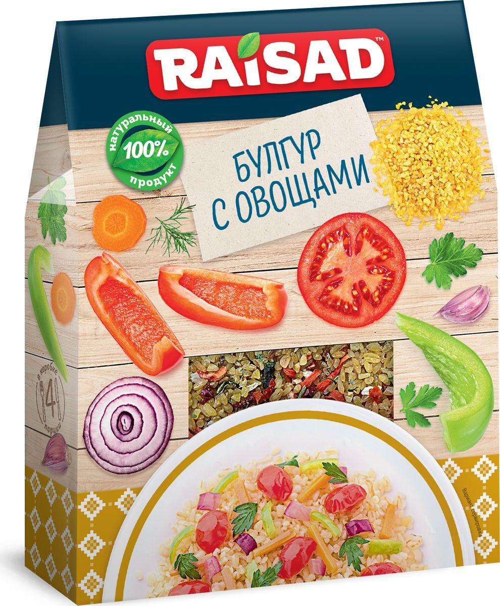 Булгур с овощами РайСад, 200 г