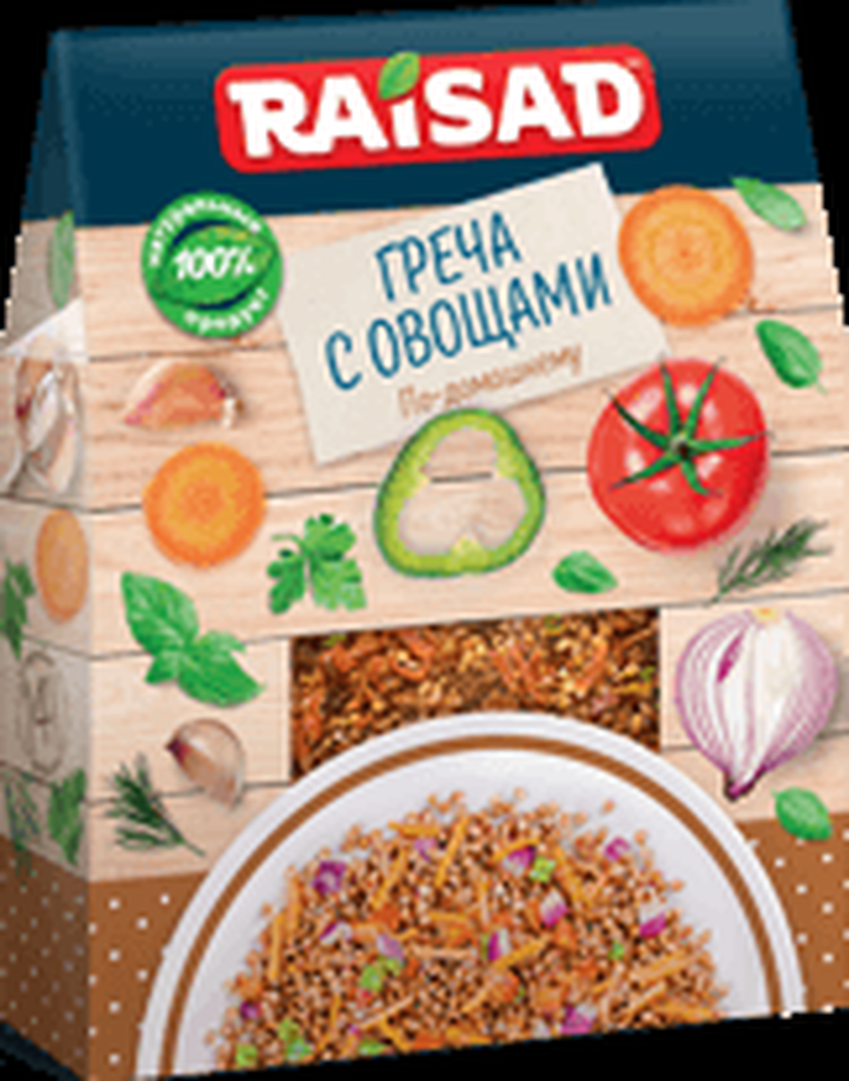 """Гречка с овощами РайСад """"По-домашнему"""", 200 г"""