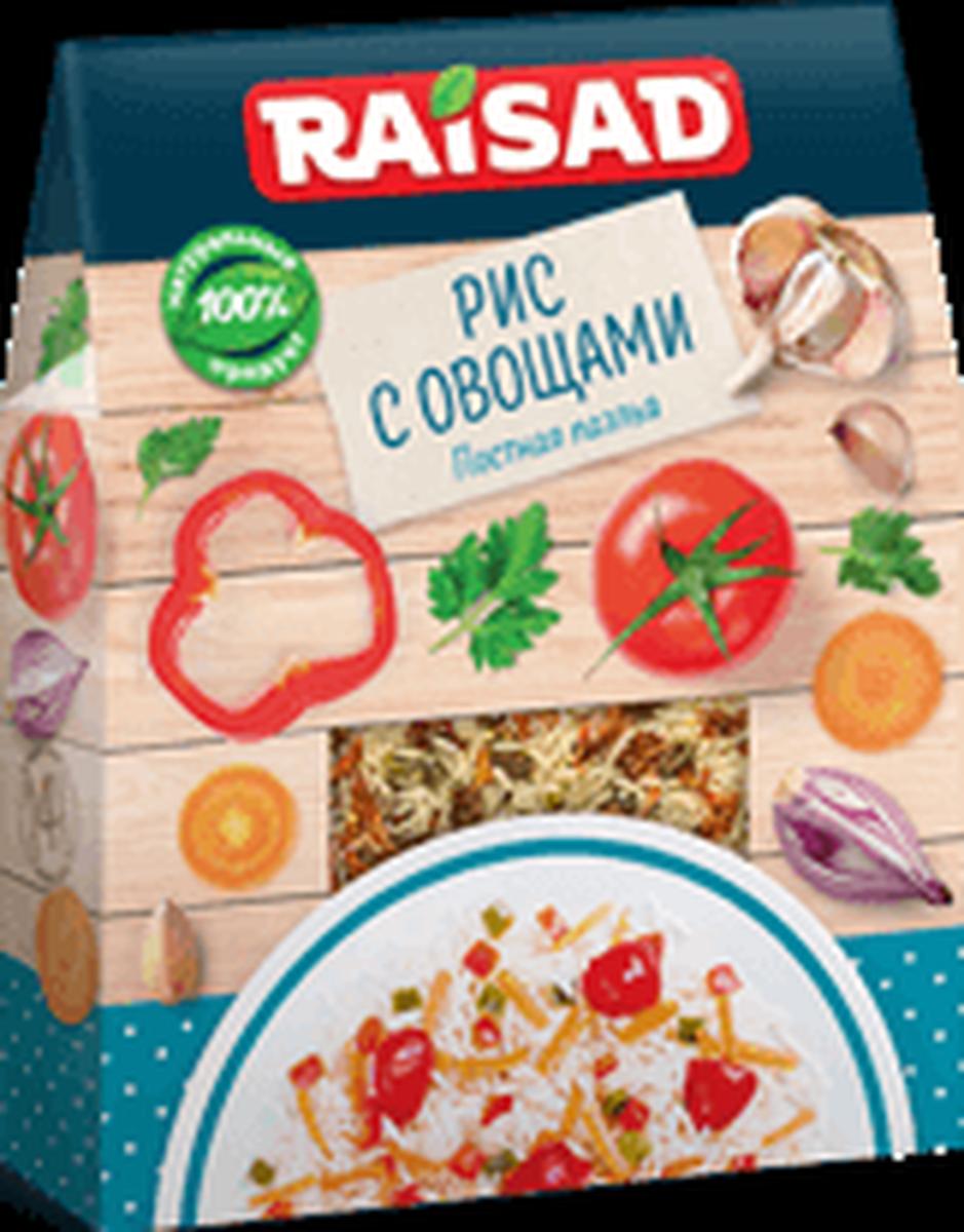 Рис с овощами РайСад Постная паэлья, 200 г
