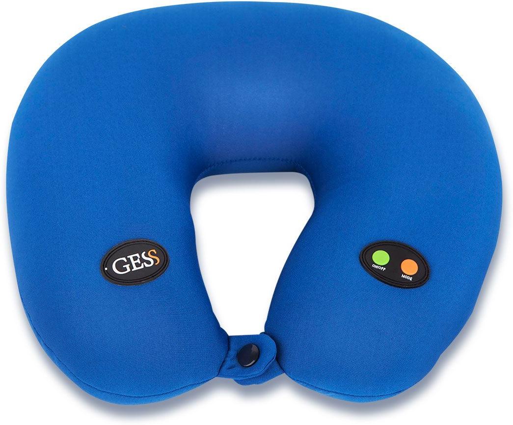 Gess u Neck Массажная подушка. GESS-302GESS-302Автомобильная массажная подушка. Обеспечивает массаж с помощью вибрации, подходит для массажа шеи, плеч, спины и поясницы, способствует быстрому расслаблению мышц, снимает боль и помогает Вам чувствовать себя комфортно в любом месте, даже в долгой поездке. Массажный механизм расположен внутри подушки и находится в свободном положении, что позволяет использовать массажер людям разного роста и комплекции. Массажер могут использовать даже те, кто не может выдержать жесткий роликовый массаж. работает от батареек.