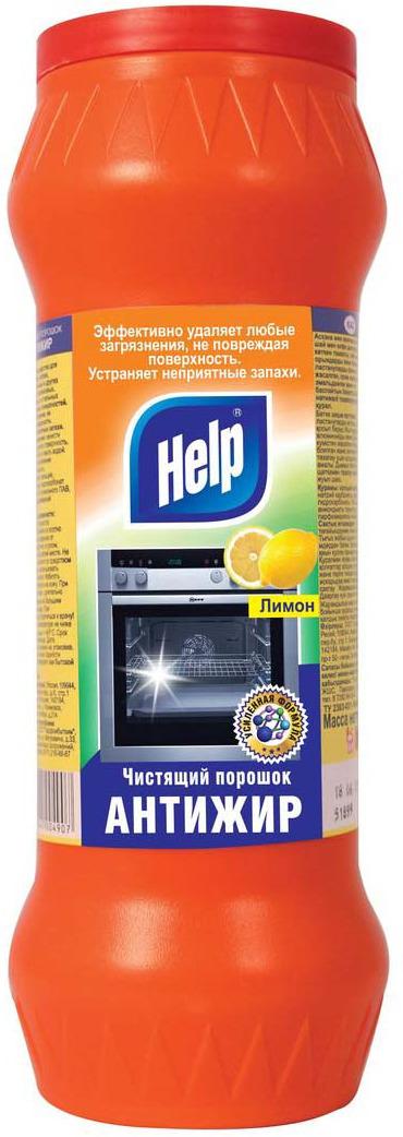 Чистящий порошок Help Антижир Лимон, 400 г цены онлайн