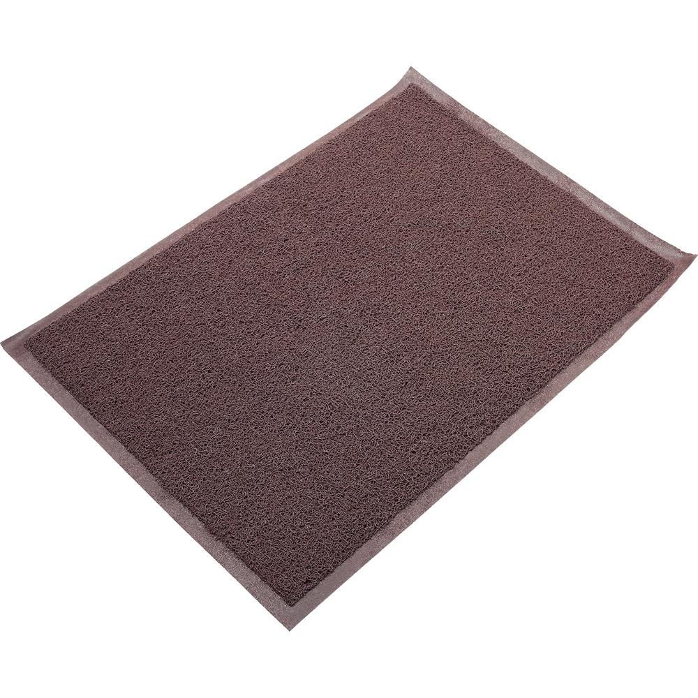 Коврик придверный VORTEX нет, коричневый коврик придверный vortex samba футбол влаговпитывающий цвет зеленый 60 x 40 см