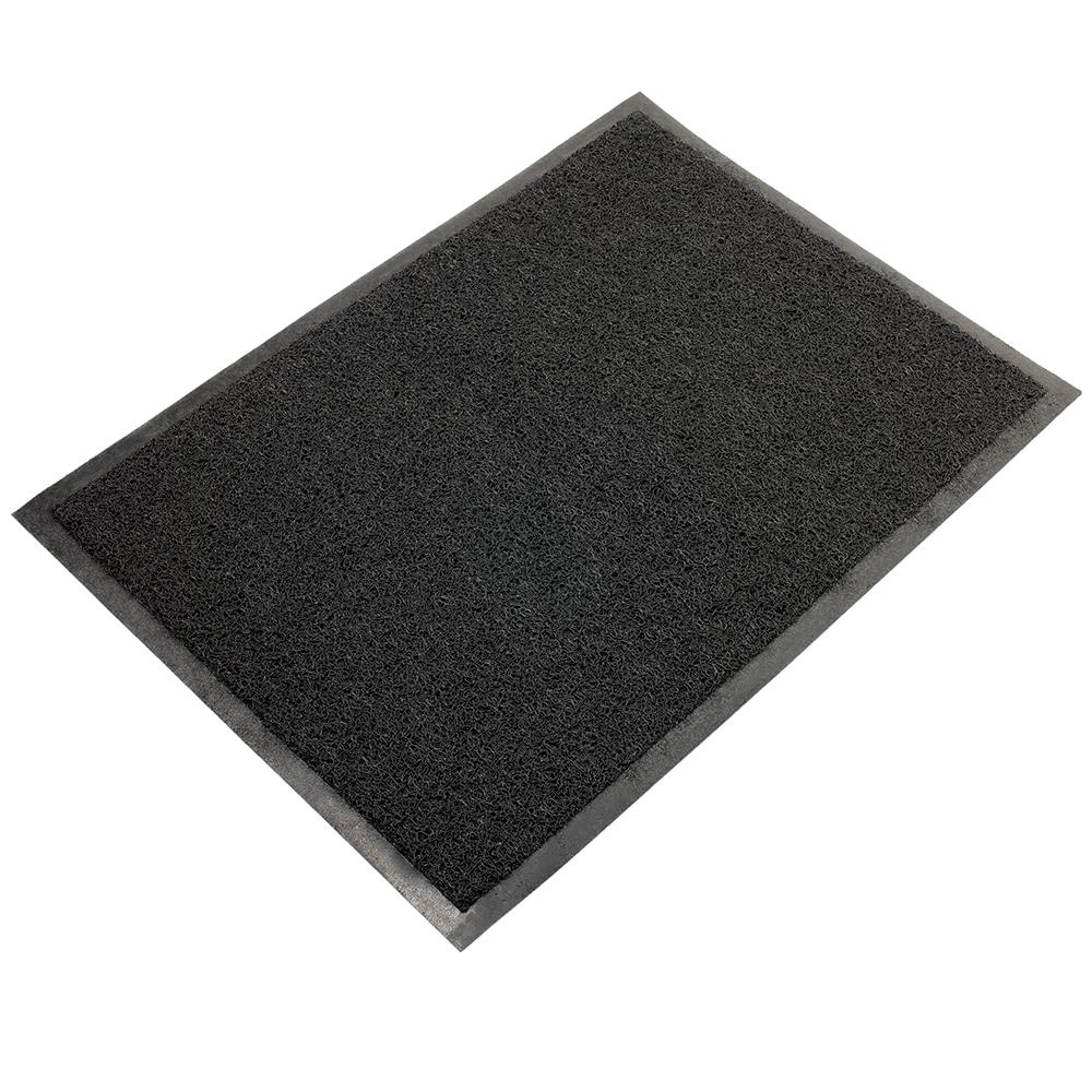 Коврик придверный VORTEX нет, черный коврик придверный vortex клен грязесборный цвет черный 40 х 60 см
