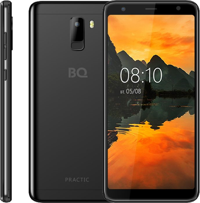 Смартфон BQ Mobile Practic 8 GB, черный