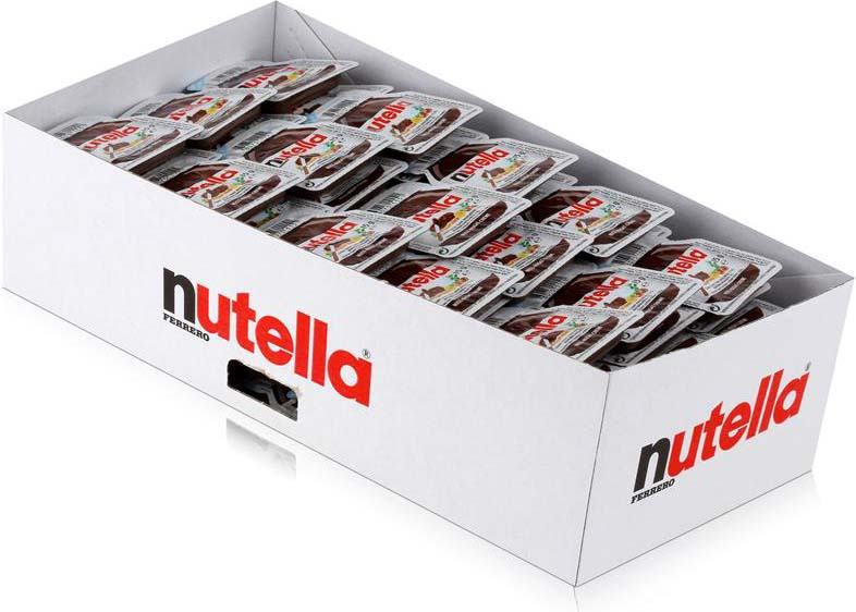 Паста ореховая Nutella, с добавлением какао, 120 шт по 15 г шоколадная паста nutella 350г
