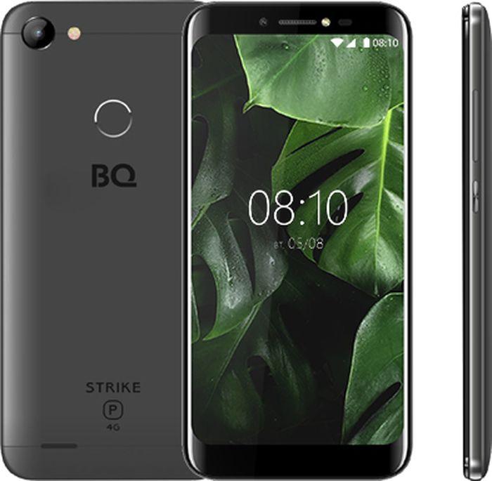 Смартфон BQ Mobile Strike Power 4G 8 GB, серый смартфон bq mobile strike power 4g 8 gb серый