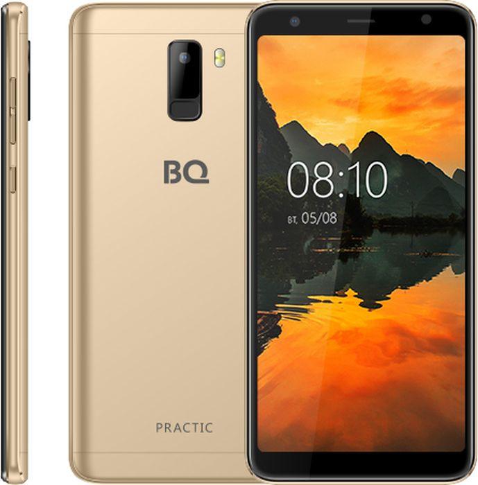 Смартфон BQ Mobile Practic 8 GB, золотой