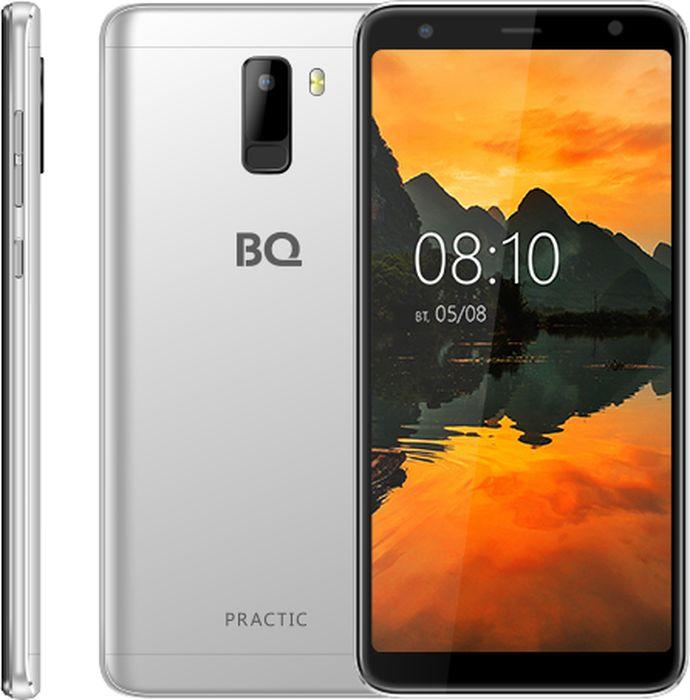 Смартфон BQ Mobile Practic 8 GB, серебристый
