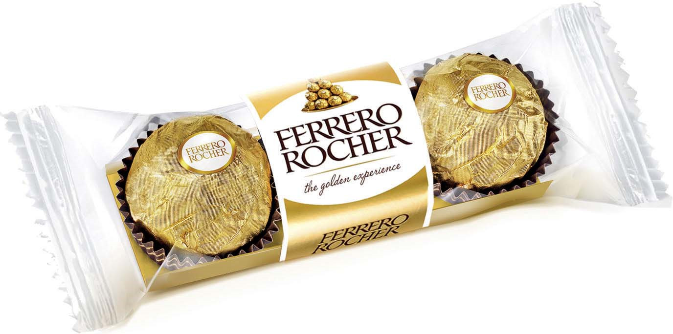 Фото - Ferrero Rocher конфеты из молочного шоколада с начинкой из крема и лесного ореха, 37,5 г ferrero prestige набор конфет mon cheri ferrero rocher pocket coffee espresso 246 г