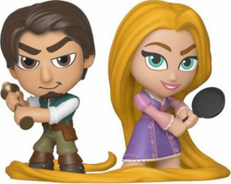 Фигурка Funko Vinyl Figure MM Disney Tangled 2PK Flynn & Rapunzel 36426 julie hogan tangled sheets tangled lies