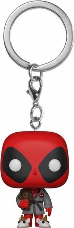 Фото - Брелок Funko Pocket POP! Keychain Marvel Deadpool Playtime Deadpool Bath Robe Exc 31733-PDQ мягкая игрушка funko pop marvel – deadpool mega 40 см