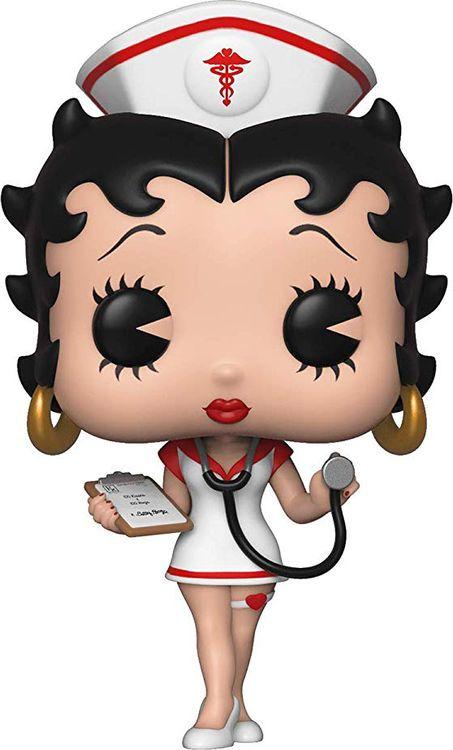 Фигурка Funko POP! Vinyl Betty Boop Nurse 35589 футболка wearcraft premium printio бетти буп betty boop