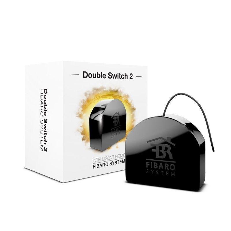 Модуль управления Fibaro Встраиваемое двойное реле Double Switch 2x1.5kW цена