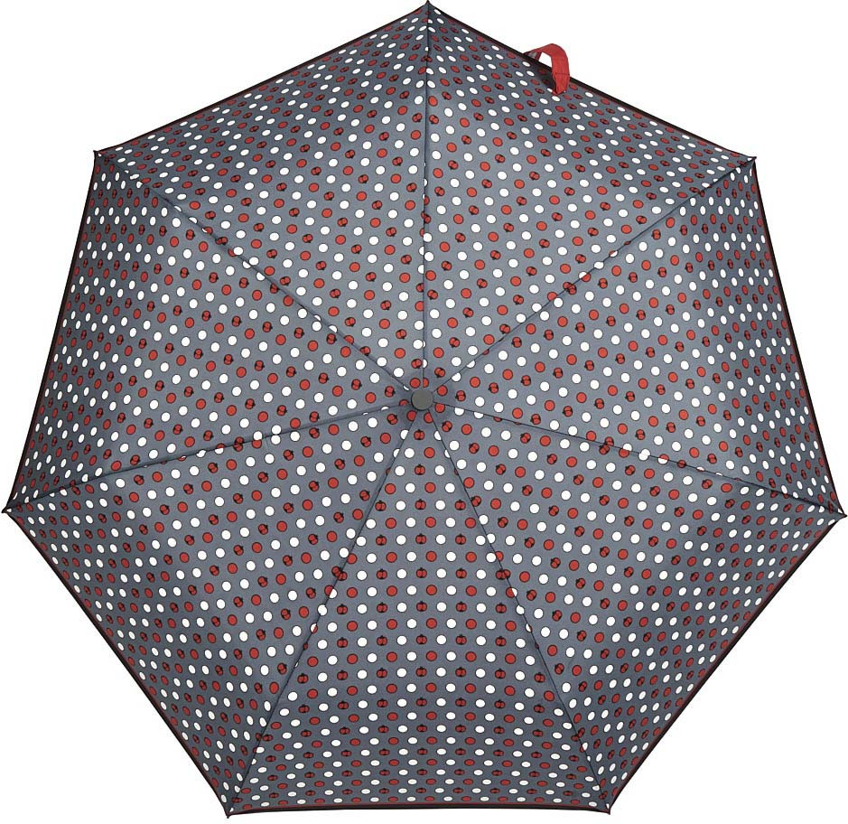Зонт Henry Backer Q2202 Ladybird, Q2202 Ladybird, серый шарф женский henry backer цвет розовый hb1605b14 63 размер 100 см х 200 см