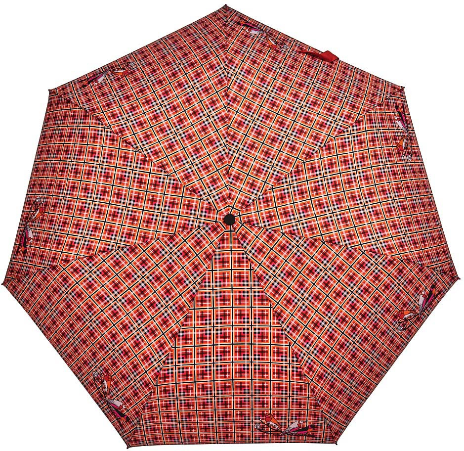 Зонт Henry Backer Q2204 CheckRed, Q2204 CheckRed, красный шарф женский henry backer цвет розовый hb1605b14 63 размер 100 см х 200 см