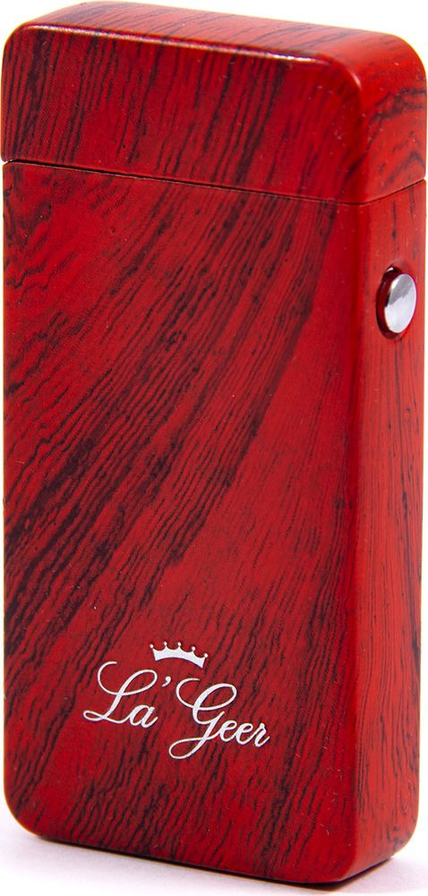 Зажигалка La Geer, электроимпульсная USB, 85409, красный, 1,5 х 4 х 7 все цены