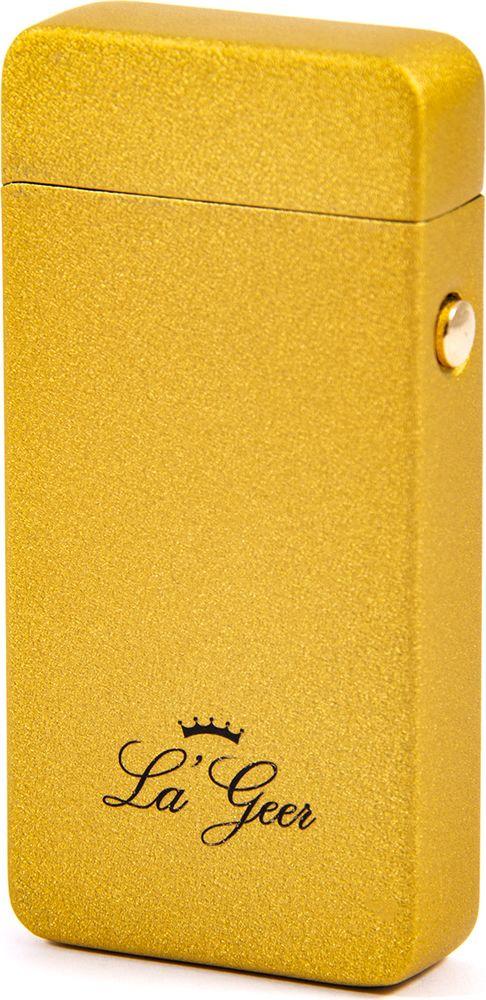 Зажигалка La Geer, электроимпульсная USB, 85413, желтый, 1,5 х 4 х 7 все цены