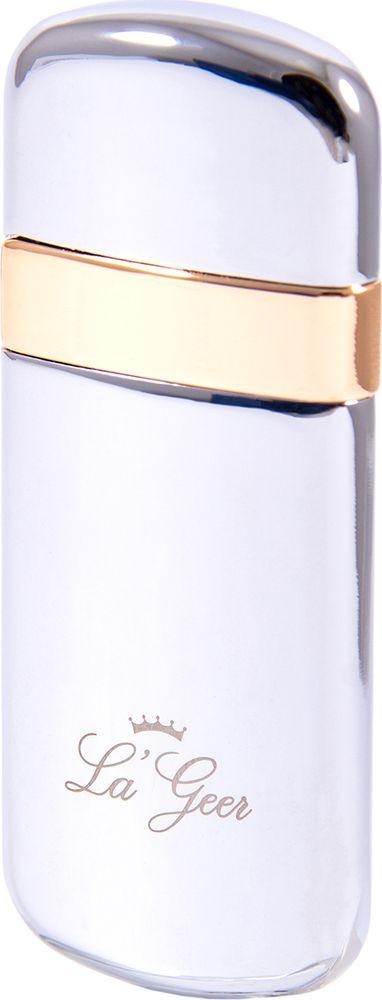 Зажигалка La Geer, электронная USB, 85419, серебристый, 1,5 х 2 х 8