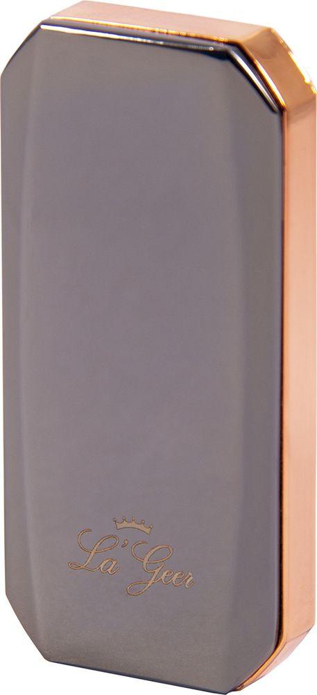 Зажигалка La Geer, электронная USB, 85422, серый, 1,5 х 3 х 7 все цены