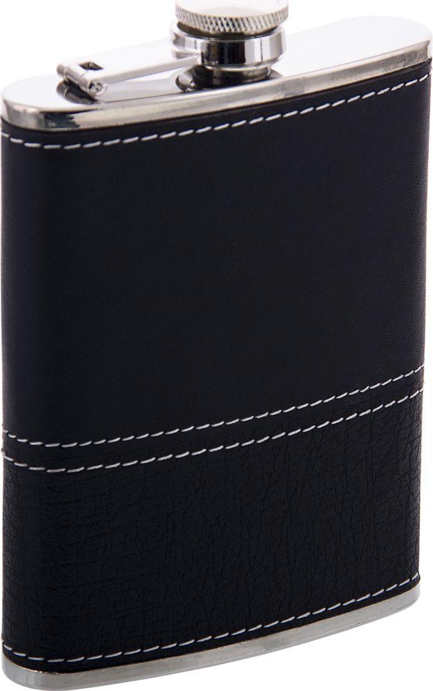 Фляжка Русские Подарки, 46068, черный, 230 мл