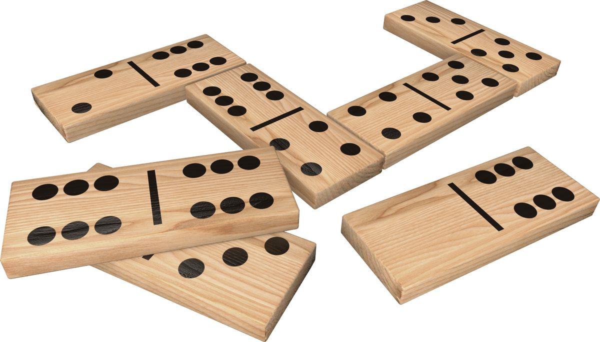 Настольная игра Cardinal Games Domiнет Гигантское деревянное домино, 6037727