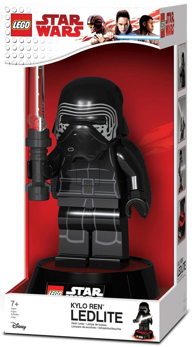 Фонарь-игрушка LEGO лампа, черный конструкторы lego lego игрушка нексо безумная колесница укротителя модель 70314