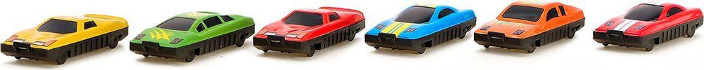Игровой набор игрушек Автоград Автогонки, с 6 машинками, 585595