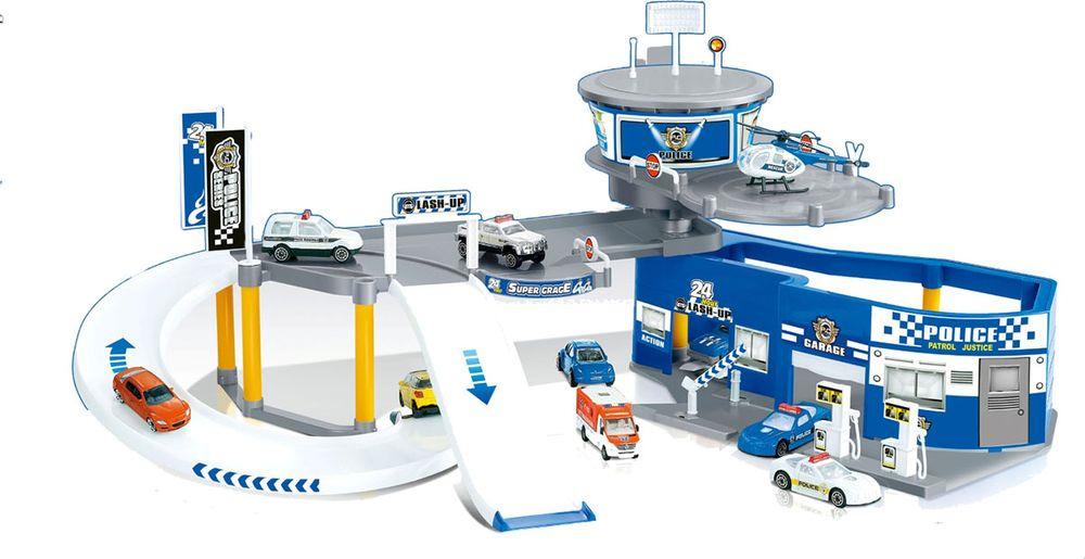 Парковка Полицейская станция, 757526 majorette игровой набор парковка полицейская станция