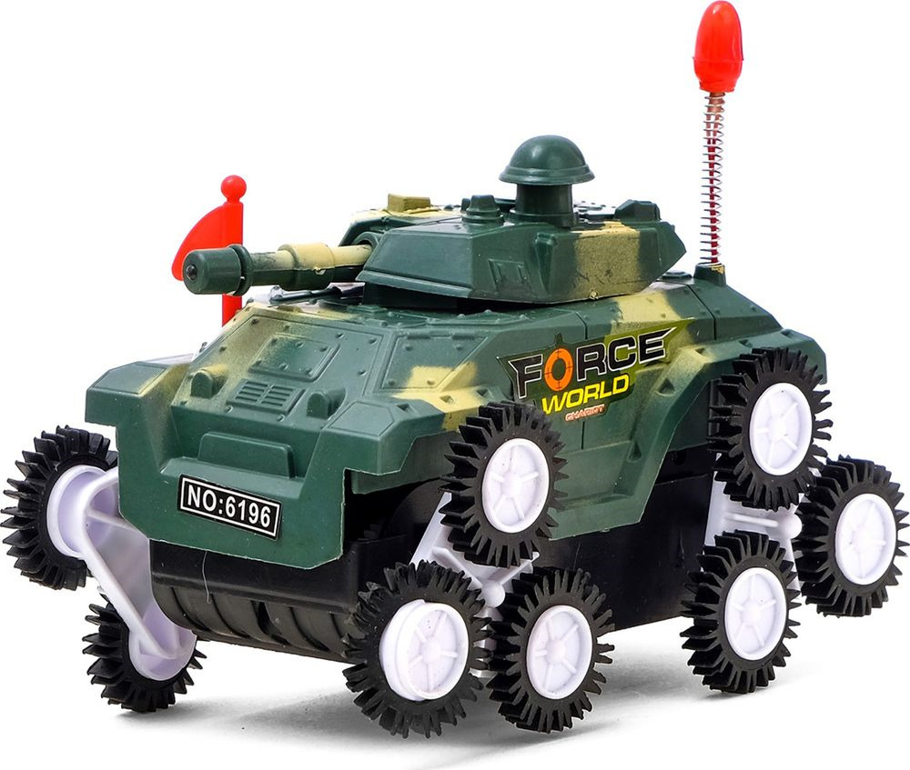 Машинка-перевертыш Танк, 761102 машинка vsp танк 628437
