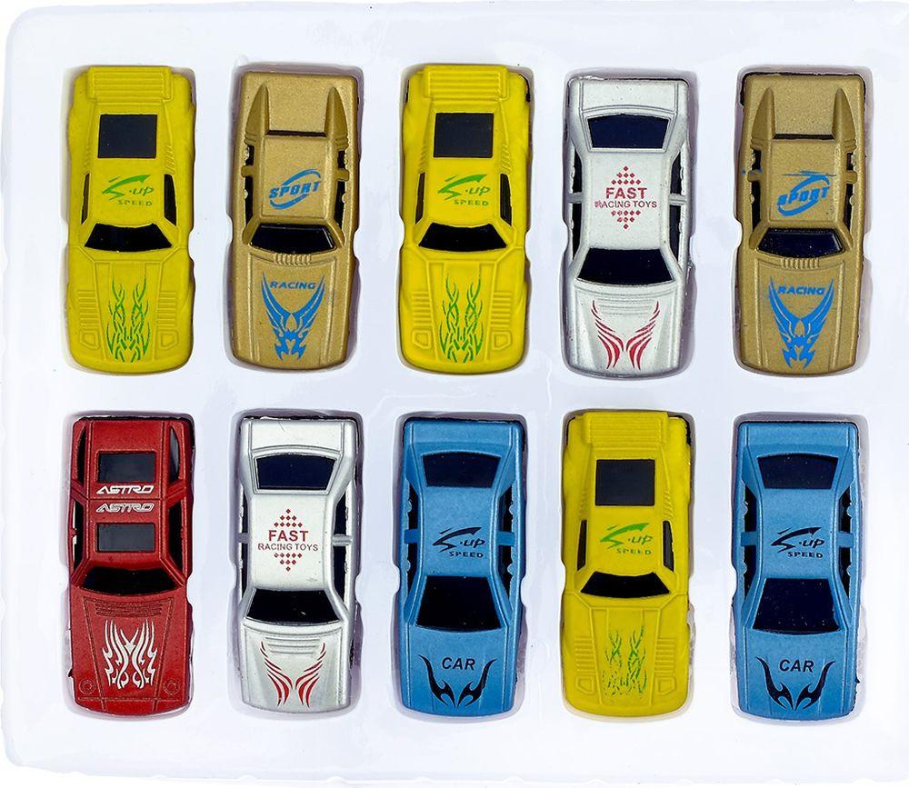 Игровой набор игрушек Гонка, 830817, 10 шт
