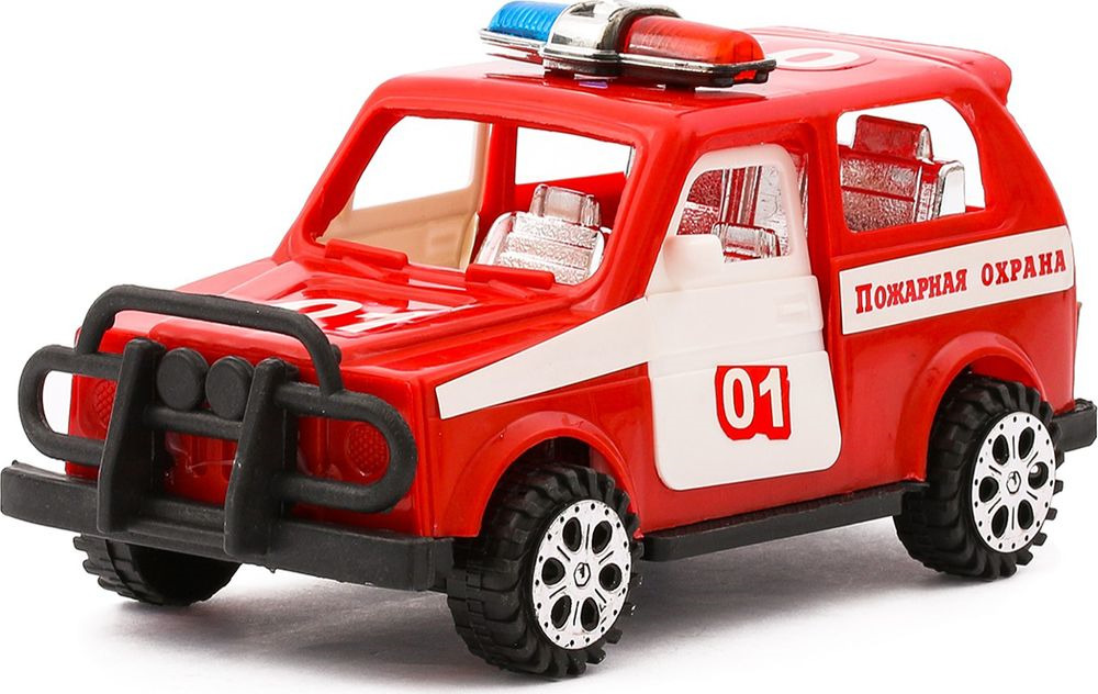 Машинка Пожарная охрана, инерционная, 870896