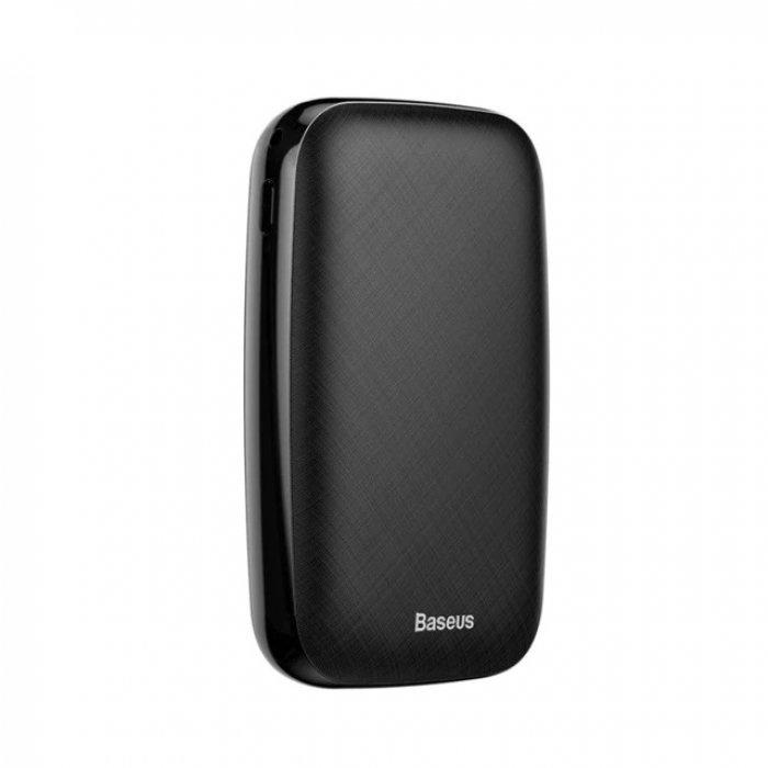 Внешний аккумулятор Baseus Power bank Mini Q Light and Portable 10000, черный внешний аккумулятор baseus power bank mini q light and portable 10000 черный