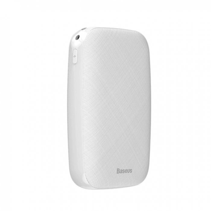 Внешний аккумулятор Baseus Power bank Mini Q Light and Portable 10000, белый внешний аккумулятор baseus power bank mini q light and portable 10000 черный