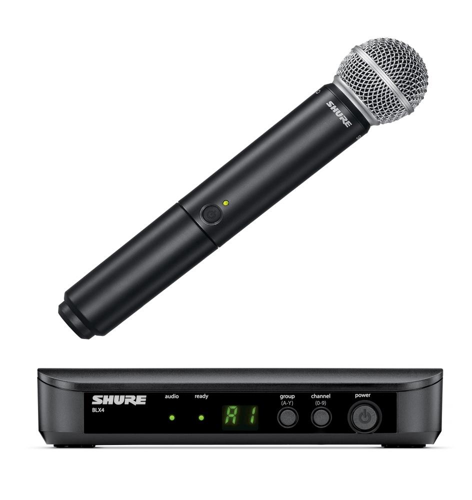 Микрофон SHURE BLX24E/SM58 M17 инструментальный микрофон shure sm57 lce